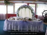 Украшение зала для свадьбы, свадебные арки