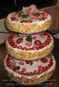 Свадебный торт под заказ в Киеве